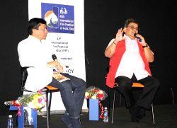 Panaji: Subash Ghai during a programme at IFFI-2014