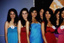 Pantaloon Femina Miss India 2010 unveils finalists at Grand Hyatt.