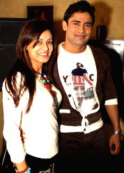 Payal Rohatgi and Sangram Singh at a Press meet to promote their film