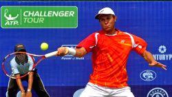 Kolkata: Emami Kolkata Open 2015- ATP Challenger - Chen Ti Vs Radu Albot