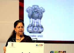 Rajasthan Chief Minister Vasundhara Raje at the Festival of Education