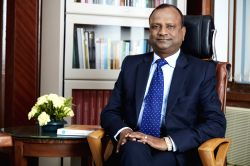 Rajnish Kumar who has been named as the new Chairman of State Bank of India. (File Photo: IANS)