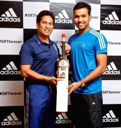 Rohit Sharma signs up with adidas