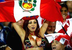 Santiago de Chile: Chile V/S Peru - Copa America 2015 semi-finals soccer match