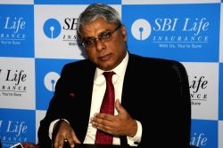 SBI Life Insurance MD and CEO Arijit Basu during the inauguration of its new regional office in Kolkata on Feb 3, 2016.