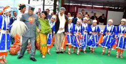 Shimla: Himachal CM  participates in a folk dance