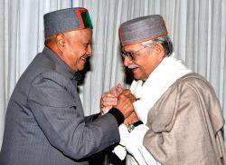 Shimla: Gulzar calls on Himachal CM