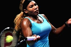 Singapore: Simona Halep v/s Serena Williams during WTA finals