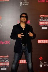 Singer Mika Singh during the 20th Annual Life OK Screen Awards in Mumbai, on January 14, 2014.