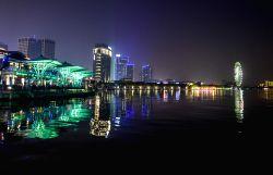 CHINA-SUZHOU-TABLE TENNIS-WORLD CHAMPIONSHIPS-NIGHT VIEW