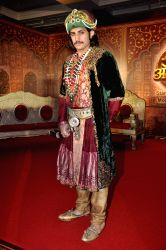 Television actor Rajat Tokas during a press conference for the