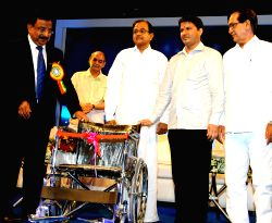 The Dena Bank  donated 100 wheelchairs to the Indian Red Cross Society, KEM Hospital, Tata Memorial Hospital, Sir JJ Group of Hospitals (Grand Medical) and Jai Vakeel School for Children with Mental Retardation and Multiple Disabilities by the hand of Finance Minister, P.Chidambaram at Platinum Jubilee Celebration function of Dena Bank in Mumbai on Saturday 25 May 2013.