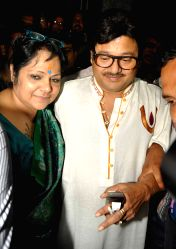 Trinamool Congress leader and actor Tapas Paul arrives at CBI office in connection with multi-crore-rupee chit fund scam in Kolkata, on Oct 7, 2015.