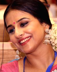 Vidya Balan at the''59 National Film Awards'', in New Delhi on Thursday 03 May 2012.