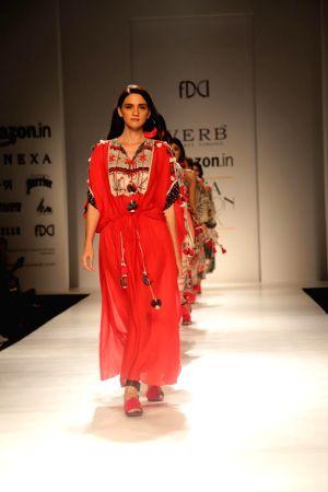 Amazon India Fashion Week Summer Spring - Pallavi Singhee