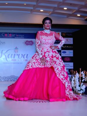 Fashion show organised on Karva Chauth