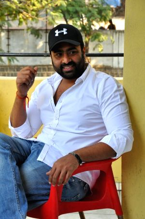 Nara Rohit during a interview