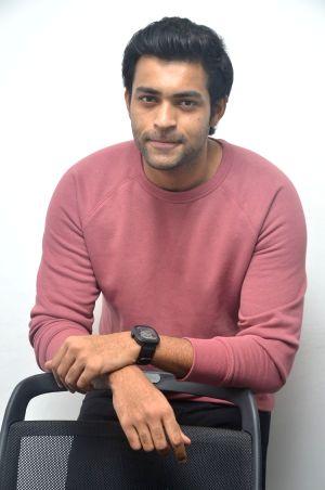 Varun Tej Interview Stills