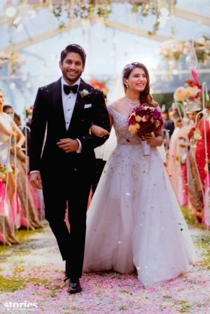 Naga chaitanya, Samntha Christian Wedding - Stills