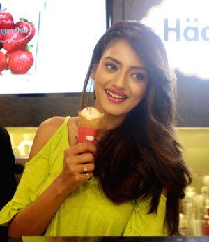 Nusrat Jahan launches ice-cream brand