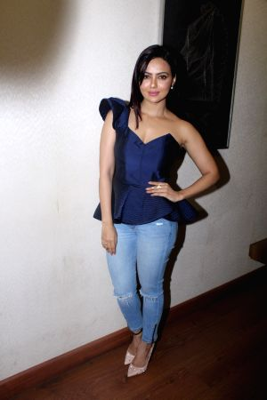 Sana Khan at the launch of a magazine