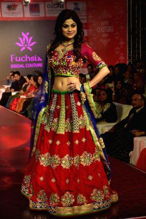 Jaipur Couture fashion show - Shamita Shetty
