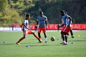 Practice session - Aizawl FC