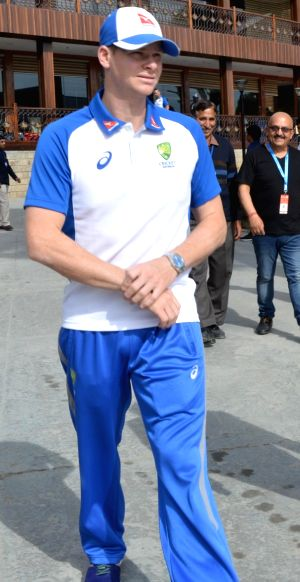 Steve Smith in Dharamsala