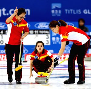 CHINA-BEIJING-CURLING-WORLD WOMEN'S CHAMPIONSHIP