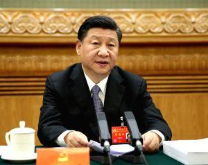 CHINA-BEIJING-CPC NATIONAL CONGRESS-PRESIDIUM MEETING
