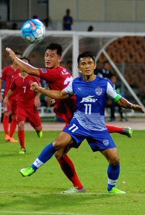 AFC Cup - semifinal - Bengaluru FC Vs North Korea