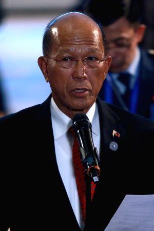 PHILIPPINES-CLARK-DEFENSE SECRETARY-ANNOUNCEMENT