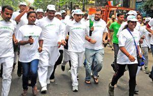 Indira Gandhi's birth centenary - Congress organises peace run