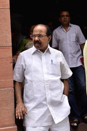 Parliament - Veerappa Moily
