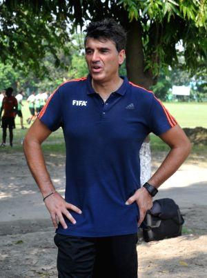 Training session - Massimo Busacca
