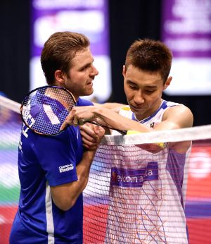 BRITAIN-GLASGOW-BADMINTON-WORLD CHAMPIONSHIPS-DAY 2