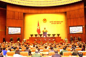 VIETNAM-HANOI-14TH NATIONAL ASSEMBLY-FOURTH SESSION