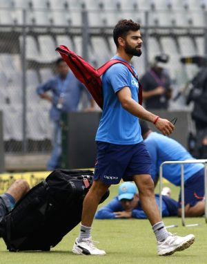 India practice session - Virat Kohli