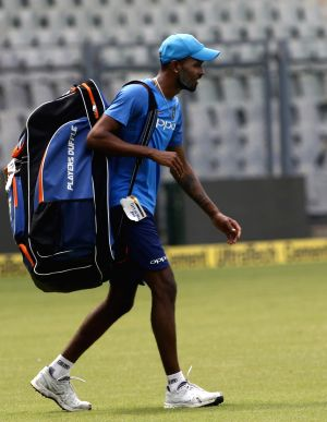 India practice session - Hardik Pandya
