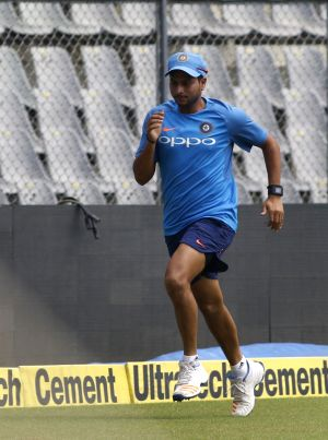 India practice session - Kuldeep Yadav