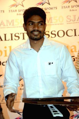 Sports Journalists Association of Mumbai awards ceremony - Akash Chikte