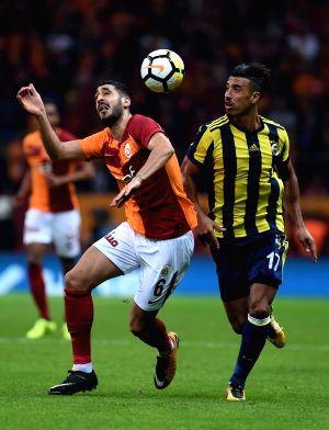 TURKEY-ISTANBUL-SOCCER-TURKISH SUPER LEAGUE-GALATASARAY VS FENERBAHCE