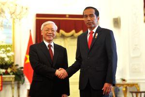 INDONESIA-JAKARTA-VIETNAM-NGUYEN PHU TRONG-VISIT