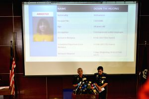 MALAYSIA-KUALA LUMPUR-POLICE-PRESS CONFERENCE-DPRK MAN-DEATH