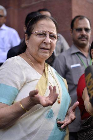 Parliament - Sumitra Mahajan
