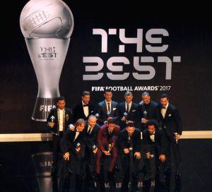 BRITAIN-LONDON-THE BEST FIFA FOOTBALL AWARDS 2017
