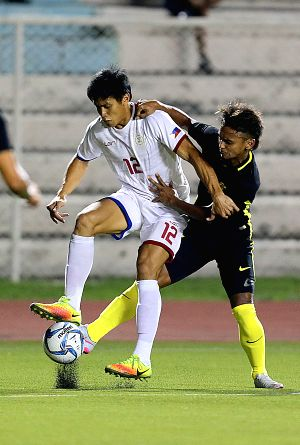 THE PHILIPPINES-MANILA-SOCCER-FRIENDLY MATCH