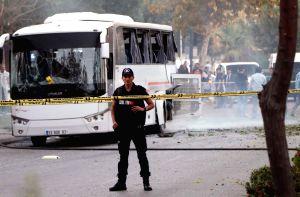 TURKEY-MERSIN-POLICE BUS-BOMB ATTACK