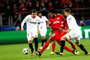 RUSSIA-MOSCOW-SOCCER-CHAMPIONS LEAGUE-MOSCOW SPARTAK VS SEVILLA