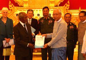 MYANMAR-NAY PYI TAW-FINAL REPORT-RAKHINE STATE